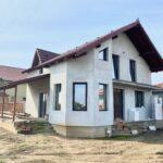 Casa(vand/schimb) P+M 172 mp Sanleani Livada teren 500 mp-112000 euro