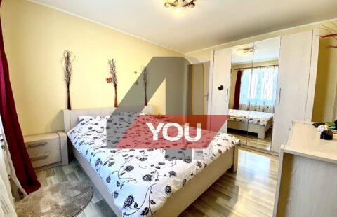 (VANDUT !!!)Apartament Arad zona Alfa/Parneava in bloc nou decomandat cu 2 dormitoare mobilat et.2-48400 euro