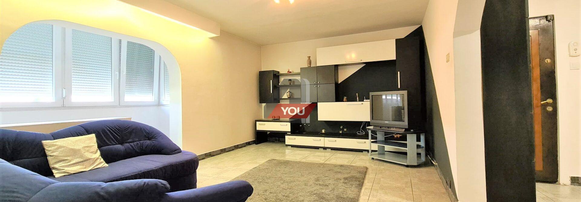 Apartament Arad 3 camere renovat Termoteca Vlaicu Fortuna pret 250 euro/luna