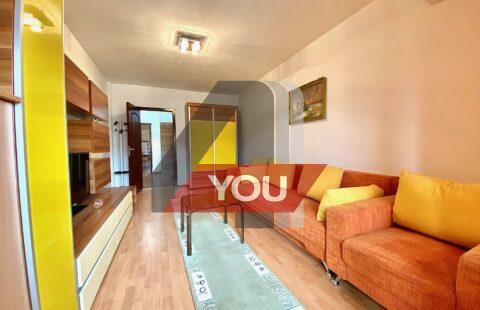 Apartament 1 camera Gradiste 50 mp bloc nou ,termoteca,mobilat utilat-195 euro